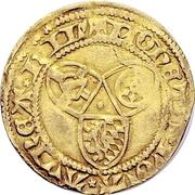 1 Goldgulden - Dietrich II. von Mörs (Riehl) -  revers