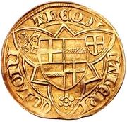 1 Goldgulden - Dietrich II. von Mors (Bonn) – avers