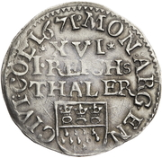 1/16 thaler – avers