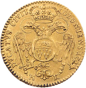 1 ducat  Karl VI. – avers