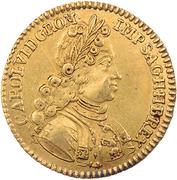 1 ducat  Karl VI. – revers