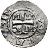 1 Pfennig - Piligrim, with Konrad as Emperor – avers