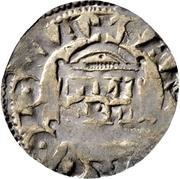 1 Denar - Konrad II. and archbishop Pilgrim – revers