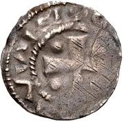 1 Denar - Hermann II, with Konrad II. – avers
