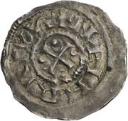 1 denar Heinrich II -  avers