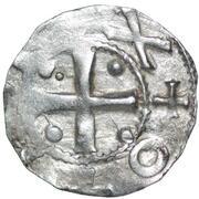 1 denar Otto III – avers