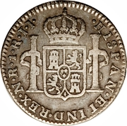 1 real Charles IV – revers