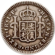 1 real Ferdinand VII – revers