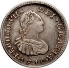 ½ Real - Fernando VII – avers