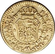 1 Escudo - Carlos IV – revers