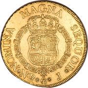 8 Escudos - Fernando VI – revers