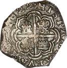 2 Reales - Felipe III – revers