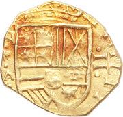 2 Escudos - Felipe IV – avers