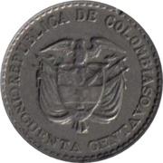 50 centavos (Jorge Eliecer Gaitan) -  avers