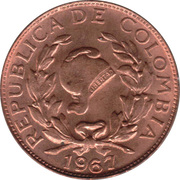 I centavo -  avers