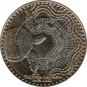 1000 pesos -  revers