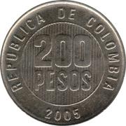 200 pesos -  avers