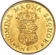 1 Escudo - Fernando VI – revers