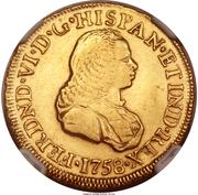 2 Escudos - Fernando VI – avers
