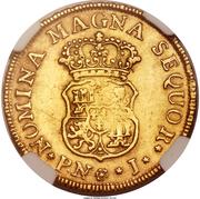 2 Escudos - Fernando VI – revers