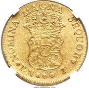 4 Escudos - Carlos III (portrait de Fernando VI) – revers
