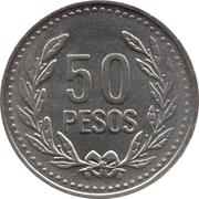50 Pesos (magnétique) -  revers