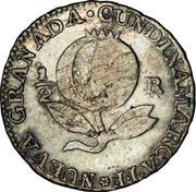 ½ Real (United Provinces of Nueva Granada) – revers