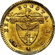 Peso - Nueva Grenada - Bogata – revers
