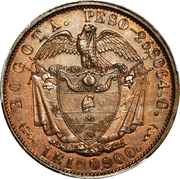 16 Pesos (Essai) – revers