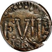¼ Real - Fernando VII (Santa Marta) – avers