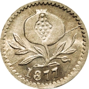 2½ Cent – avers