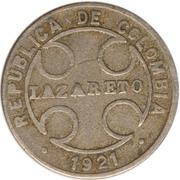 1 centavo (monnaie de léproserie) -  avers