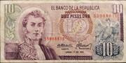 10 pesos oro – avers
