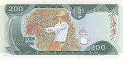 200 Pesos Oro – revers
