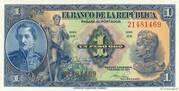 1 Peso Oro – avers