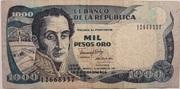 1000 Pesos 1991 – avers
