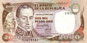 2000 Pesos -  avers