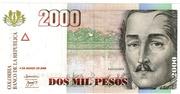 2000 Pesos – avers