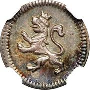 ¼ real - Ferdinand VI – avers