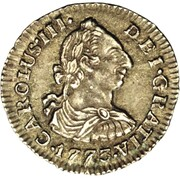 ½ Real - Carlos III – avers