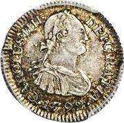 ½ Real - Carlos IV – avers