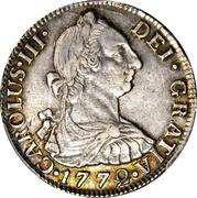 2 Reales - Carlos III – avers