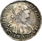 2 Reales - Carlos IV – avers