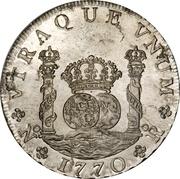8 Reales - Carlos III – revers