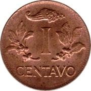 1 centavo – revers