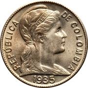2 centavos (tête à droite) -  avers