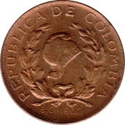 1 centavo (Indépendance) – avers