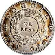 1 Real – revers