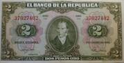 2 Pesos Oro – avers