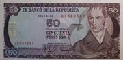 50 pesos de oro – avers